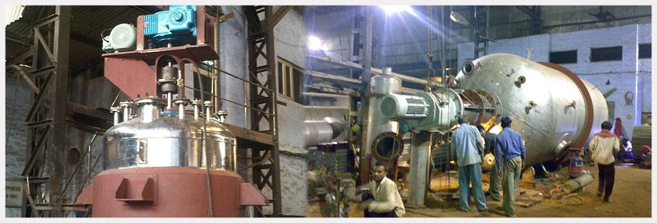 Reaction Vessel Pressure Vessel Condenser Heat